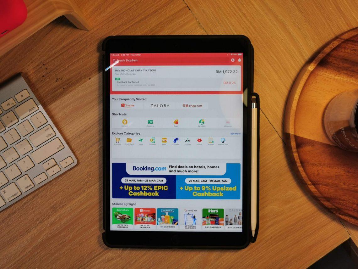 Shopback iPad